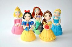 Disney Princesses Cake by SweetRevolutions