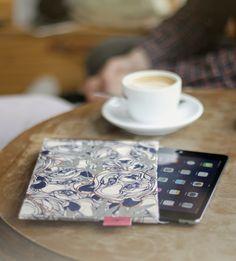 CrispyWallet Tablet mini sleeve Panda Print Pattern Design Tyvek Handmade