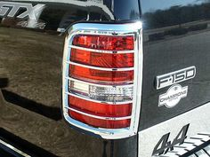 F150 2004-2008 FORD FLEETSIDE (2 pieces: Taillight Bezel - Imported, ABS plastic with CHROME overlay) TL44308