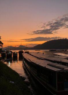 Sunset in Mekong River Luxury Travel, Asia, Around The Worlds, Journey, Europe, Australia, America, River, Sunset