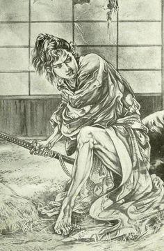 「運命の剣」少年倶楽部、昭和4年3月号 伊藤彦造(1925)