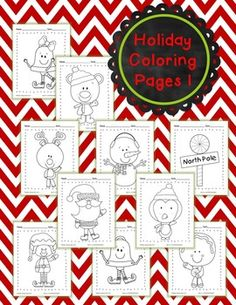 Enjoy these holiday coloring pages created with ScrappinDoodles clip art! More Coloring sheets to come. Preschool Christmas, Christmas Crafts For Kids, Christmas Activities, Christmas Printables, Christmas Art, Operation Christmas, Craft Activities For Kids, Business For Kids, Holiday Fun