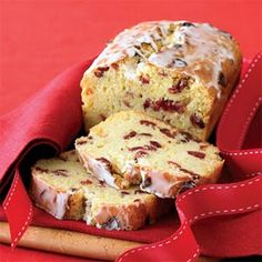Heart N Soul Cooking: ORANGE-CRANBERRY BREAD with GRAND MARNIER GLAZE