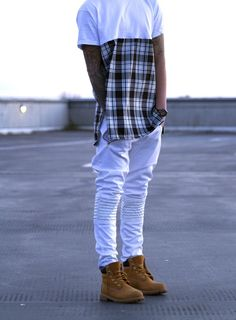 I like this outfit paired with timberland boots