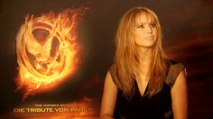 She is my new favorite person. Can't wait to see The Hunger Games.