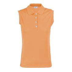 #Ropadegolf. Polo golf algodón mujer.Fabricado en algodón soft swing piqué. Cuello y bocamangas elásticos. Logotipo bordado en pecho izquierdo. Tallas: S, M, L, XL.