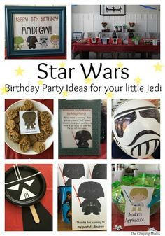 Star Wars Birthday Party Ideas for Your Little Jedi || The Chirping Moms #starwarsparty