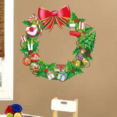 Vinilos Infantiles: Corona navideña. #infantil #decoración ...