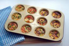 Muffin Kalıbında Omlet - Basitdokunuslar.com - YouTube