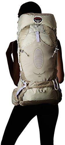 Osprey Women's Aura 50 AG Backpacks, Silver Streak, Medium