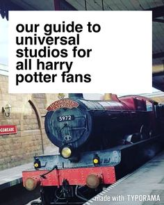 Our Guide to Universal Studios for Harry Potter Fans