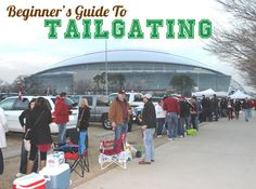 Beginner's Guide to Tailgating - guest posting today for @Matty Chuah Style Ref.