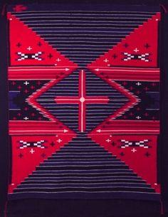 Moki Revival Navajo Weaving