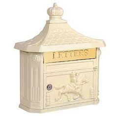 Architectural 4460 Beige VICTORIAN MAILBOX by Architectural. $127.46. VICTORIAN MAILBOX-SURFACE MOUNTED-BEIGE. Made of cast aluminum, surface mounted Victorian mailboxes are available in four (4) contemporary colors and include a 10-3/4 W x 2-1/4 H mail flap with the word LETTERS engraved in it. Surface mounted Victori