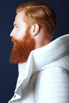 Beards. Men. Redhead.
