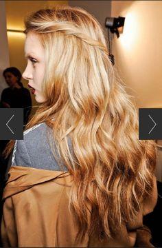 Butterscotch blonde