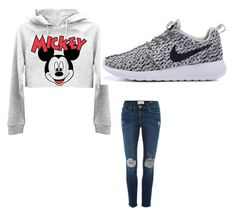 Untitled #1 by sydney-kloveyou on Polyvore featuring polyvore, fashion, style, Frame Denim and clothing