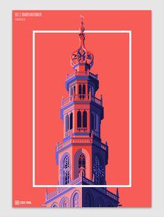 10 Towers of the Netherlands   Abduzeedo Design Inspiration