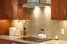 Kitchen Design Brown U Shaped Kitchen Design With Led