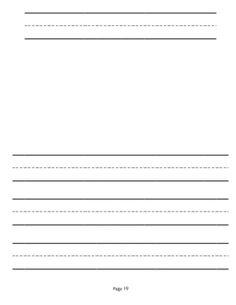 kindergarten writing paper online