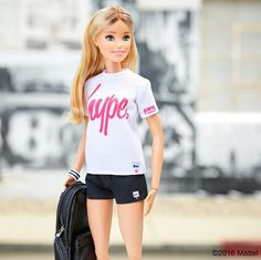 WEBSTA @ barbiestyle - Casual cool courtesy of @justhypeofficial! Loving the pop of my signature pink.  #barbiehype #barbie #barbiestyle