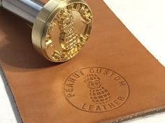 Custom Leather Stamps O Made In USA 3 8 Thick Brass