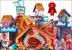 Alice in Wonderland Gingerbread House by Wicked Goodies - i can't even believe this is a gingerbread house!!