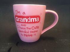 Hallmark Grandma Grandmother Grammy Coffee Cup Mug Cute Sayings Mother's Day