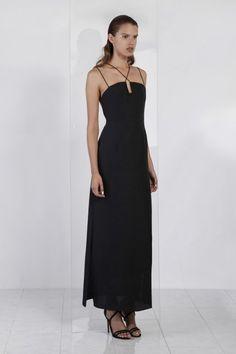 Keepsake BE MY ESCAPE MAXI DRESS BLACK - BNKR