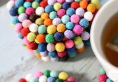 DIY Ideas for fabulous parties using Pom Poms!