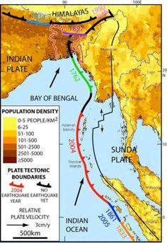 A giant quake may lurk under Bangladesh and beyond - https://scienmag.com/a-giant-quake-may-lurk-under-bangladesh-and-beyond/