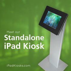An interesting ultimate way to engage with customers without personnel or extended overhead! Used for trunk shows email sign-up, new product notification, and more. Kiosk Design, Retail Design, Standing Signage, Digital Retail, Android Windows, Ipad Accessories, Ipad Tablet, Pos, Homescreen