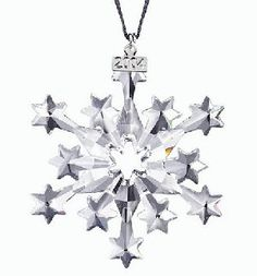 2004 Swarovski Crystal Annual Edition Christmas Snowflake