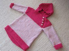 Strikkehulen: Osloanorakken i rosa