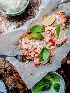 Thaimaalainen kookoslohi - Tomi Björck // Thai coconut salmon