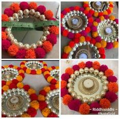 38 Ideas Wedding Summer Diy Candles For 2019 Diwali Decoration Items, Thali Decoration Ideas, Diwali Decorations At Home, Festival Decorations, Candle Decorations, Handmade Decorations, Wedding Decorations, Wedding Ideas, Diwali Diya