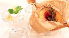 Gebackene Rosmarinpfirsiche mit Kokosmousse | Rezepte | ARD-Buffet | SWR.de