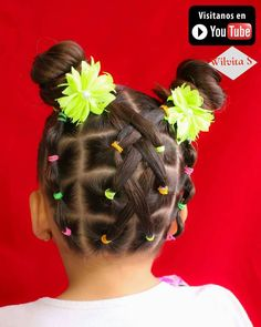 """0 Me gusta, 1 comentarios - Silvia Casanova (@wilvita_s) en Instagram: """"Super easy and cute hairstyle. I invite you to see the video in my YouTube channel WILVITA S link…"""""""