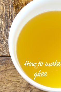 How to Make Ghee via DeliciouslyOrganic.net