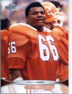 2012 Upper Deck Football Card #50 William Perry - Clemson Tigers (Chicago Bears) by Upper Deck. $1.89. 2012 Upper Deck Football Card #50 William Perry - Clemson Tigers (Chicago Bears)