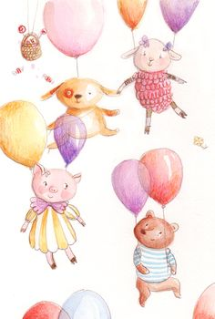 Little sweets,  illustration by Ania Simeone