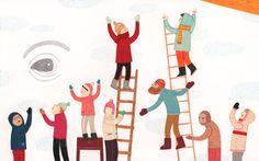 Sharjah Exhibition for Children Books Illustrations by Leire Salaberria, via Behance