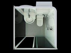 High Quality All In One Bathroom Units Prefab Bathroom   Buy Prefab Bathroom,Prefab  Toiletu2026