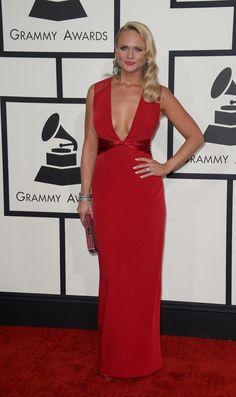 Miranda Lambert at the Grammys.