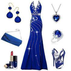 midnight blue elegance