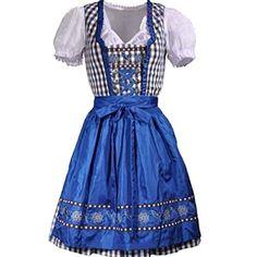 Partiss Damen Oktoberfest Schuetzenfest Dirndl 3 tlg.Trachtenkleid Kleid mit kariertem Rock weiss Bluse Blau Schuerze Partiss http://www.amazon.de/dp/B012FDFESW/ref=cm_sw_r_pi_dp_01DTvb1RZ1X99