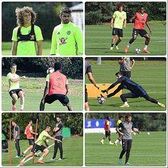 Lads in training today! Ahead of game against Liverpool tomorrow. 💙👍 . . #cfc #chelsea #trueblues #ktbffh #prideoflondon #foreverblue #like4like #antonioconte #cfcarmy #l4l #spam4spam #diegocosta #drogba #premierleague #cfcfans #DavidLuiz #terry #captain #champions #stamfordbridge #kante #hazard #pedro #Courtois #chelseafans #alonso #Cahill #oscar #willian #zouma