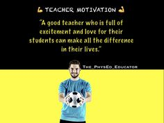 ✊Lets get Motivated ✊For MORE FOLLOW 🤗👉@the_physed_educator   ⭐️Daily motivation AND Inspiration to keep teachers going. ⭐️  - - - - -  #teacherssmile #happyteacher #teachersarecool #motivation #happylife #teachersmotivate #inspireothers #inspiration #motivationalquotes #teachermotivation Teacher Quotes, Best Teacher, Inspire Others, Daily Motivation, Happy Life, Motivationalquotes, Student, Let It Be, Education