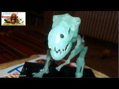 La Scienza di Giacomo - Lo scheletro di tirannosauro luminoso [T-REX]