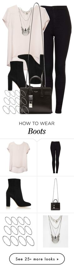 """Style #10380"" by vany-alvarado on Polyvore featuring Topshop, Gianvito Rossi, ASOS and Yves Saint Laurent"